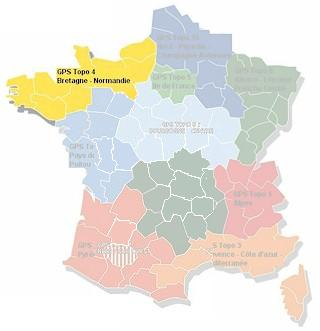 MapSource France Topo Bretagne, Normandie (No. 4)