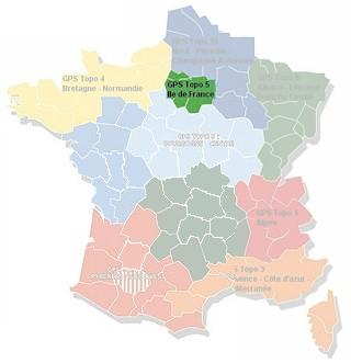 MapSource France Topo Ils de France (No. 5)
